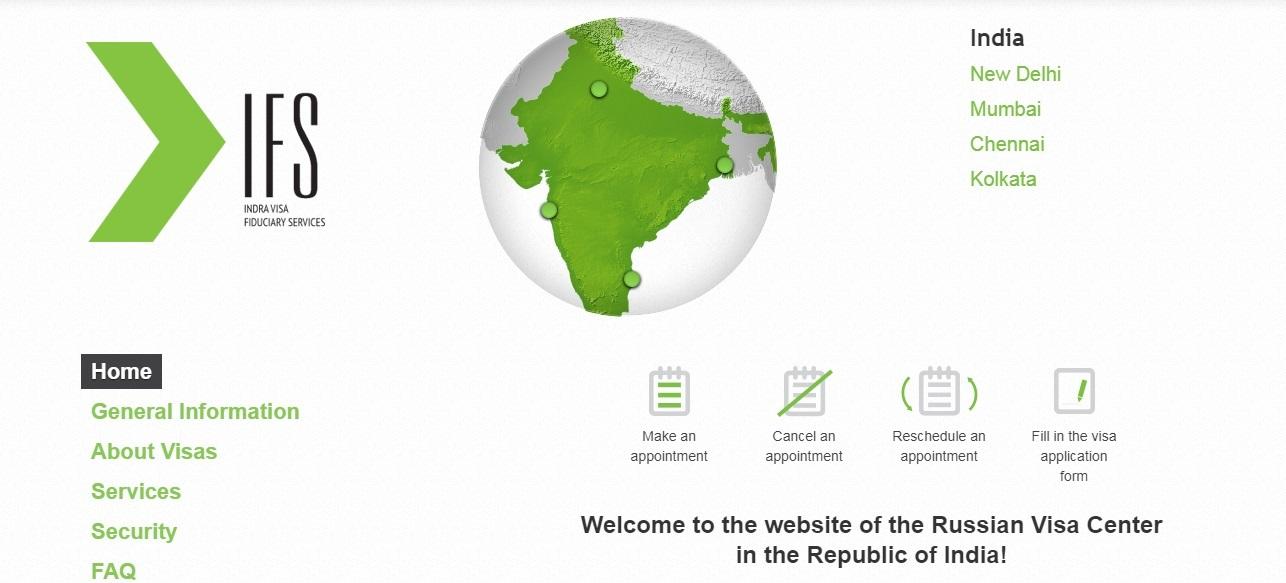 Russian Visa Application Center in India
