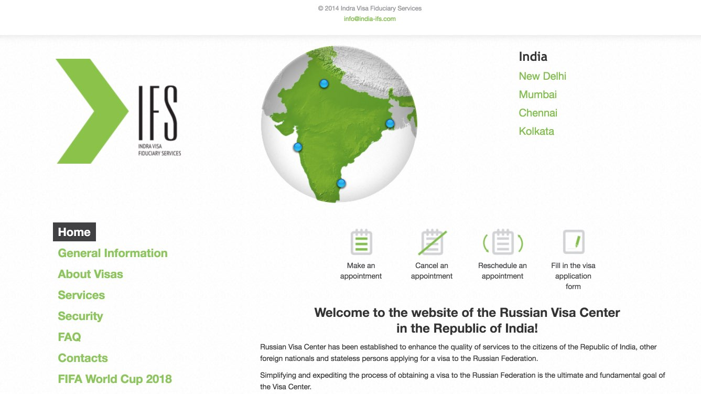 Russian Visa Center in India