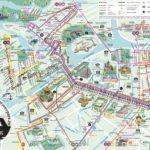 St Petersburg tourist map City center - High resolution