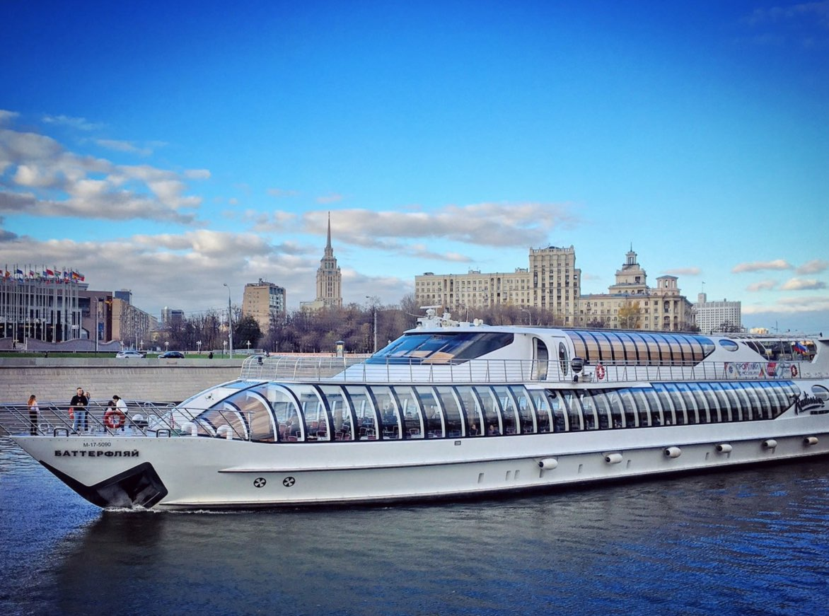Boat tours in Moscow